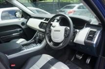 Range Rover Sport SVR - Driver's View