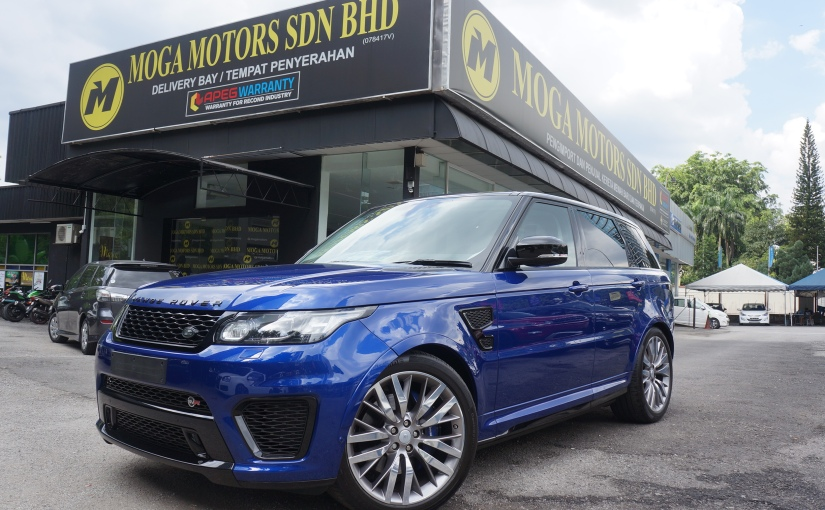 Driven: Range Rover Sport SVR! Best in its Class!