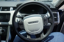Range Rover Sport SVR - Steering and Speedometer