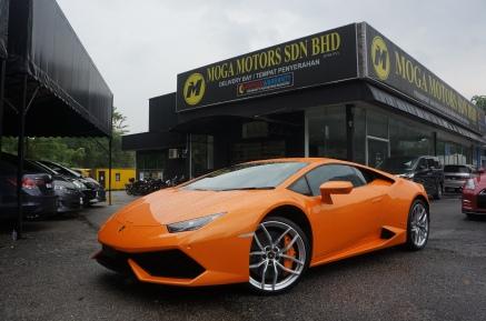 Lamborghini Huracan Front