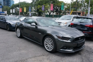 Ford Mustang GT 5.0 V8 2016 - Front Side View